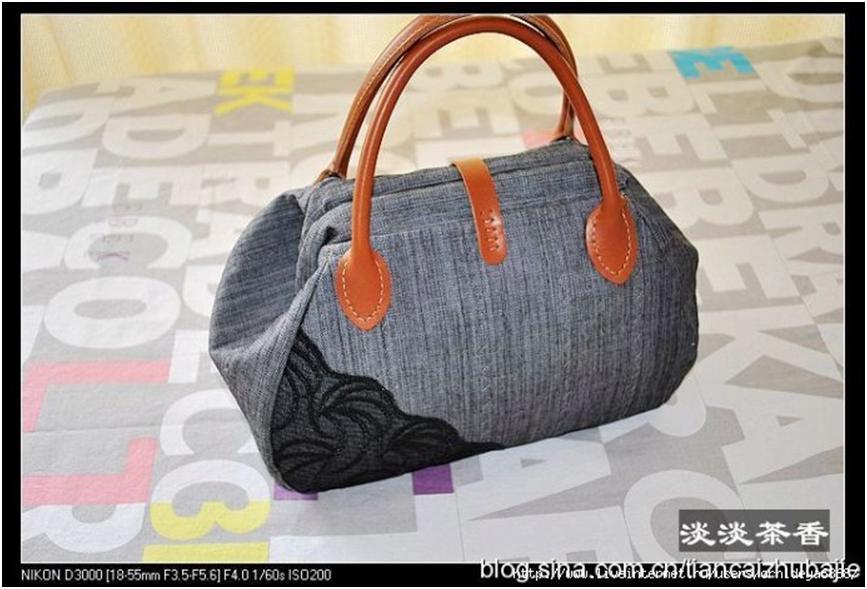 Джинсовая сумка своими руками мастер класс