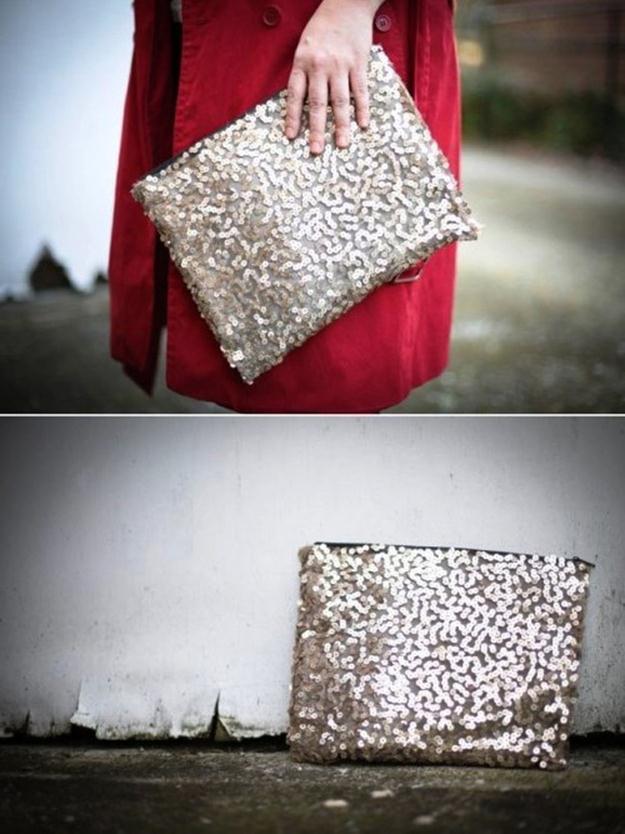 fe3cd684dcc2 Как сделать сумочку из блестящей ткани » Швейка